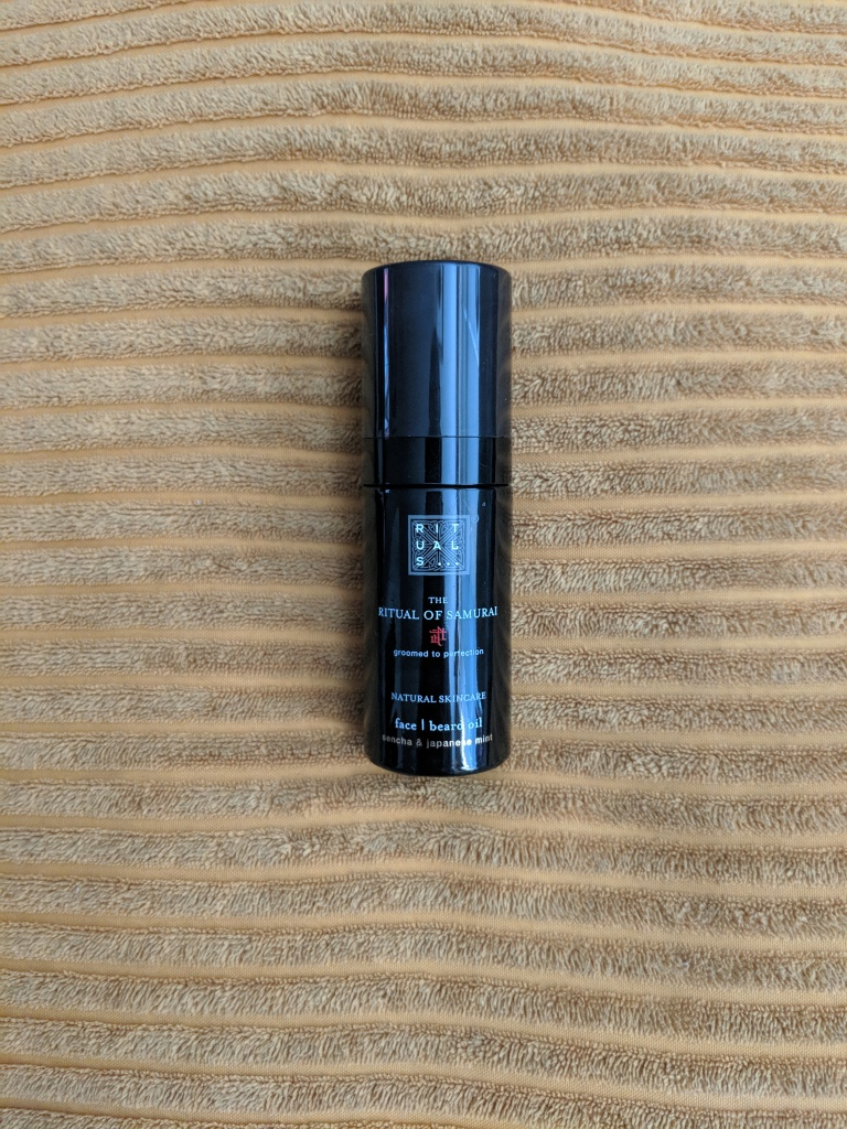 Review: Rituals – The Ritual Of Samurai Beard Oil – amrityville